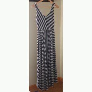 Anthropologie Puella Tasmin Striped Maxi Dress